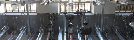 Nuovi cicloparcheggi protetti e servizi per bici elettriche
