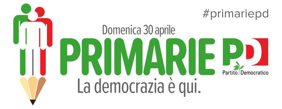 Invito 30 aprile 2017 Elezioni primarie per il segretario del Partito Democratico