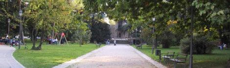 Sbarrieramento del collegamento pedonale di Via Giardini con Piazza Venezia