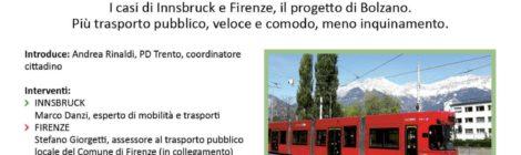 Idee per la Trento del futuro. Muoversi in città: prendiamo il tram ?