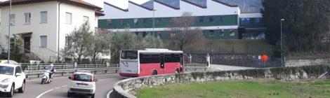 Via Venezia nei pressi di S.Donà: elaborazione di uno studio per migliorare la sicurezza pedonale e il transito dei bus autosnodati