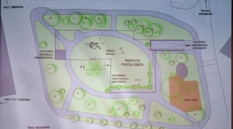 Piazza Centa. Nuovo parcheggio pertinenziale interrato. Come verrà ridisegnata la pista ciclabile? Interrogazione n. 541/2020